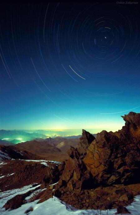 Il cielo sopra il monte Gargash