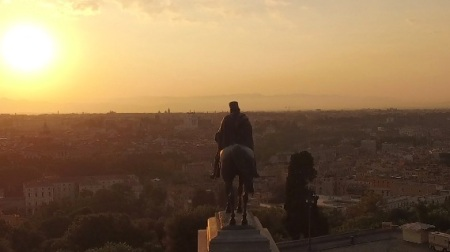 Roma vista dall'alto